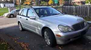 2003 Mercedes C240 with etest