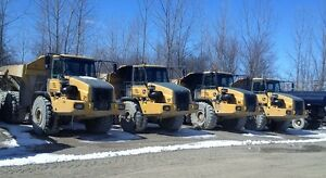 (5) Articulated Rock Trucks For Sale