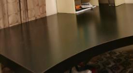 Ikea desk wood