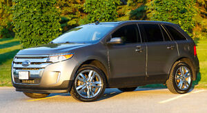 Loaded Mineral Grey 2014 Ford Edge SEL AWD