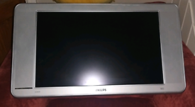 Philips 26 inch TV with remote control