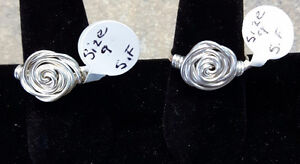CLEARANCE SALE 2 for $15   Sterling silver rings
