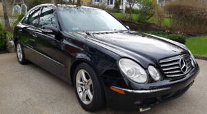 2005 Mercedes E320 CDI (Turbo-Diesel) only 118,810 km - LOADED