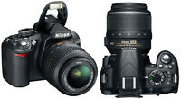 Nikon D3100 Camera Body & 18-55mm Standard Lens!