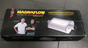Two Magnaflow Mufflers