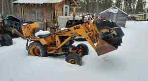 Case 648 garden tractor