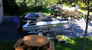 160 Chaparral Bowrider with a 75hp mercury