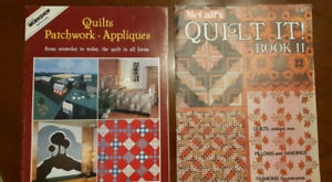 2 Quilt vintage magazines  McCall's How to Quilt It! Book 2