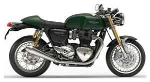 2018 Triumph Thruxton 1200 R One Left