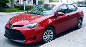 Lease takeover. 2018 Toyota Corolla