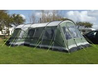 Outwell Montana 6 tent plus extras.