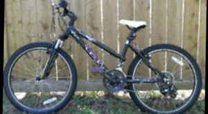 Gt 24 Inch Laguna Mountain Bike for girls with a new Bike Lock