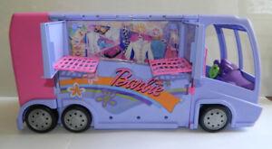 Barbie Jam N' Glam CONCERT TOUR BUS / RV