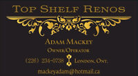 Top Shelf Renos