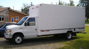 2009 Ford F-350 XLT  Super Duty Cube Van