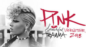 P!nk - Pink Floor tickets x2 - May 12 - Vancouver BC