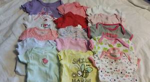 0 to 3 baby girl lot