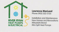 River Ryan Heat Pumps & Electrical