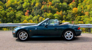 1997 BMW Z 3    4 cylinder, 5 speed roadster