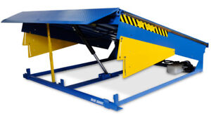 Blue Giant Dock and Wheeled Equipment