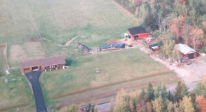 REDUCED!!!! Log Home. Great Hobby Farm