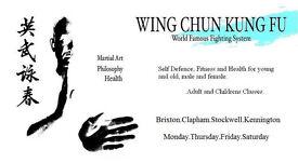 South London Wing Chun Kung Fu – Brixton, Clapham, Stockwell and Kennington Wing Chun