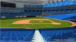 GAME 3 Blue Jays/Rangers, Sun Oct 9th - 4 tickets, behind dugout Kitchener / Waterloo Kitchener Area image 1
