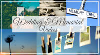 Wedding and Memorial Picture Slideshow Video