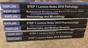USMLE STEP 1 Kaplan 2018 (7 book Set)