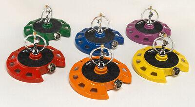 Dramm  Colorstorm  Metal  Sled  Rotating Sprinkler  4536