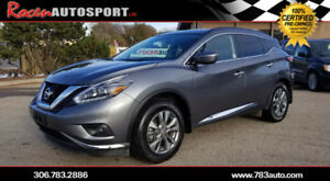 NO PST!!!  2018 NISSAN MURANO SV AWD - JUST ARRIVED!!  - YORKTON