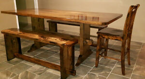 home made harvest table