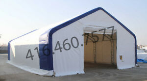 Portable Fabric Buildings SALE Storage Shelters Temporary Tents