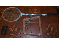 Grays of Cambridge Badminton Racket & Racket Press ideal for beginner of the sport