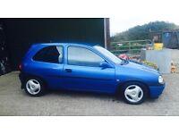 Corsa Sport 1.4 16v Arden blue (Sri,gsi,Corsa b, saxo)