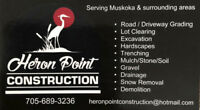 Heron Point Construction and Landscape