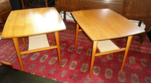 MCM Teak side tables