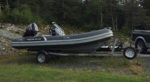 Like New OCEAN MASTER BOAT FOR SALE -located in Trepassey