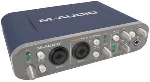 M-Audio Fast Track Pro Recording Usb Interface
