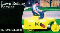 Lawn Rolling Service