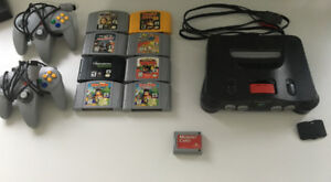 N64 + 8 Games + 2 Licensed Controllers + Expansion Pack