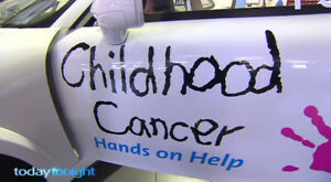 DECAL GIG STICKERS ,AD CAMPAIGN OPERATION ( STOP CANCER )