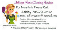 Ashley's Home Cleaning Services