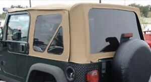 Jeep YJ soft top