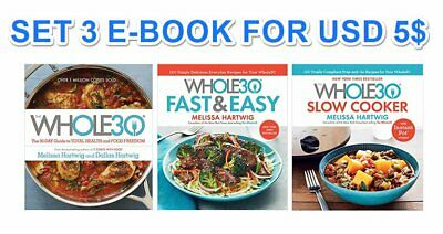 The Whole30 CookBook Guide to Total Health - SET 3 Digital Book - PDF - EB00K