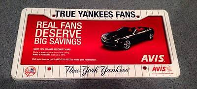 New York Yankees Collectible License Plate Frame SGA Brand New