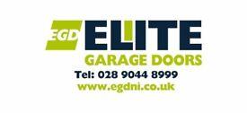 Misfit garage doors for sale (roller doors).