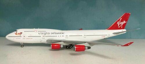 Inflight WB744AB Virgin Atlantic Airways B747-400 G-VFAB Diecast 1/200 Jet Model