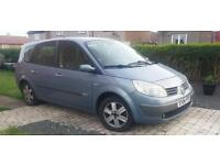 Renault Grand Scenic 2.0 16v Dynamique, Mot till July, 2004,Spares or Repairs