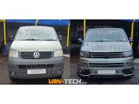VW Transporter T5 to T5.1 Facelift Front End parts kit